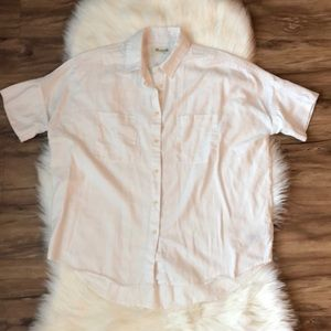 Madewell White Button Down
